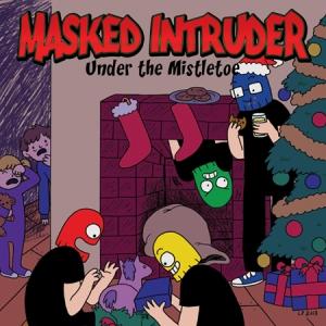 masked-intruder-under-the-mistletoe